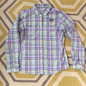 Columbia PFG Omni Shade button down shirt